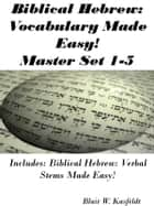 Biblical Hebrew: Vocabulary Made Easy! Master Flash Card Set 1-5 ebook by Blair Kasfeldt