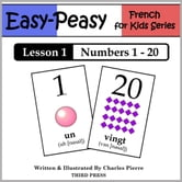French Lesson 1: Numbers 1 to 20 ebook by Charles Pierre