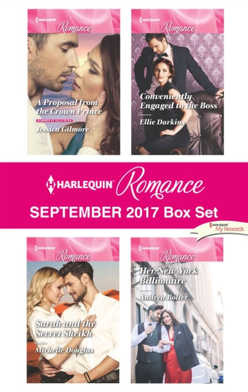 Harlequin Romance September 2017 Box Set - An Anthology ebook by Jessica Gilmore,Michelle Douglas,Ellie Darkins,Andrea Bolter