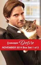 Harlequin Desire November 2014 - Box Set 1 of 2 - Sheltered by the Millionaire\A Beaumont Christmas Wedding\Her Desert Knight ebook by Catherine Mann, Sarah M. Anderson, Jennifer Lewis