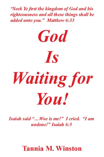 God Is Waiting for You ebook by Tannia M. Winston