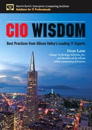 CIO Wisdom: Best Practices from Silicon Valley ebook by Lane, Dean