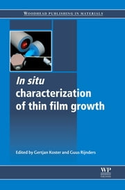 In Situ Characterization of Thin Film Growth ebook by