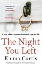 The Night You Left - The tense and shocking thriller that readers can't put down eBook by Emma Curtis
