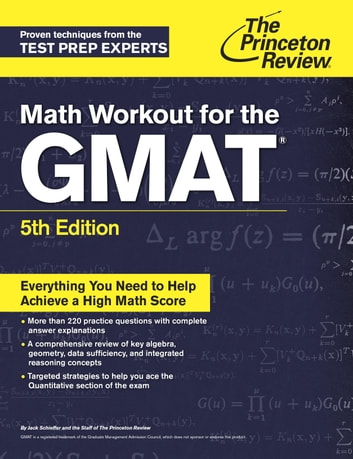 Math Workout for the GMAT, 5th Edition  ebook by Princeton Review