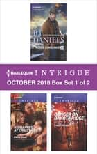 Harlequin Intrigue October 2018 - Box Set 1 of 2 - Rogue Gunslinger\Kidnapped at Christmas\Danger on Dakota Ridge ebook by B.J. Daniels, Barb Han, Cindi Myers