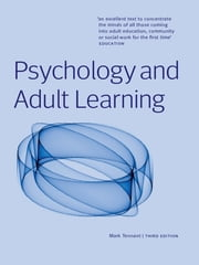 Psychology and Adult Learning ebook by Mark Tennant,Mark Tennant