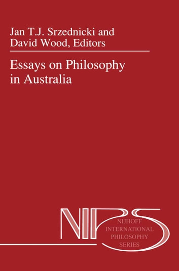 Essays on Philosophy in Australia ebook by