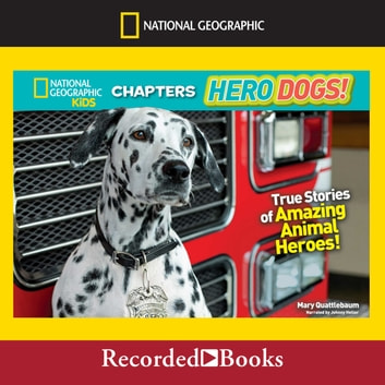 national geographic kids chapters hero dogs audiobook by. Black Bedroom Furniture Sets. Home Design Ideas