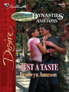 Just a Taste ebook by Bronwyn Jameson