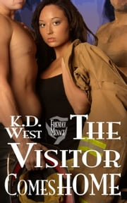 The Visitor Comes Home: a Friendly MMF Menage Tale ebook by K.D. West