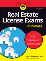 Real Estate License Exams For Dummies ebook by John A. Yoegel