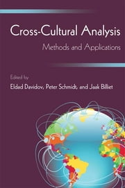 Cross-Cultural Analysis - Methods and Applications ebook by Eldad Davidov,Peter Schmidt,Jaak Billiet,Bart Meuleman