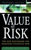 Value at Risk, 3rd Ed. : The New Benchmark for Managing Financial Risk: The New Benchmark for Managing Financial Risk