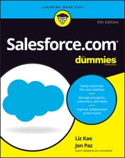 Salesforce.com For Dummies ebook by Liz Kao, Jon Paz