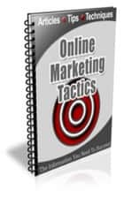 Online Marketing Tactics Newsletter ebook by Jimmy Cai