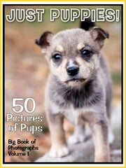 50 Pictures: Just Puppies! Big Book of Puppy Dog Photographs, Vol. 1 ebook by Big Book of Photos