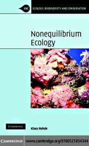 Nonequilibrium Ecology ebook by Rohde, Klaus
