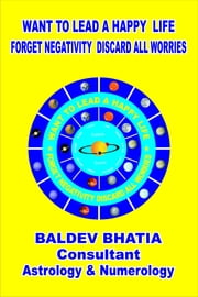 Want To Lead A Happy Life ebook by Baldev Bhatia