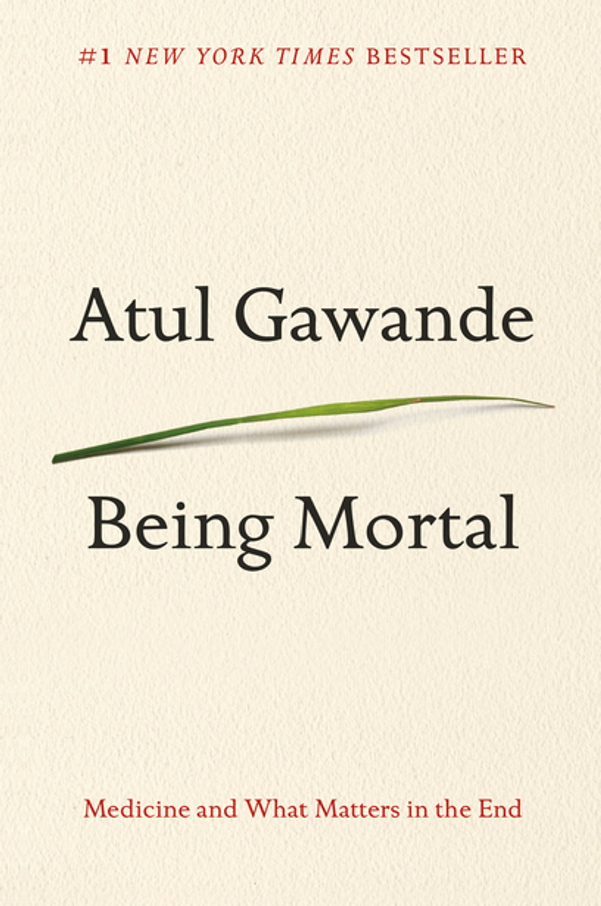 Being Mortal  Medicine And What Matters In The End Ebook By Atul Gawande