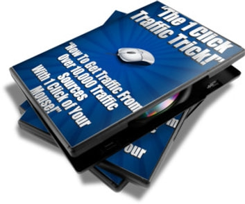 "1 Click Traffic - ""How to get traffic from over 10,000 traffic sources with 1 click of your mouse! "" ebook by JeffBode"