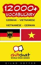 12000+ Vocabulary German - Vietnamese ebook by Gilad Soffer