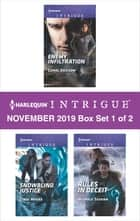 Harlequin Intrigue November 2019 - Box Set 1 of 2 ebook by Carol Ericson, Cindi Myers, Nichole Severn