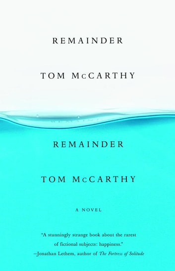 Remainder ebook by Tom McCarthy