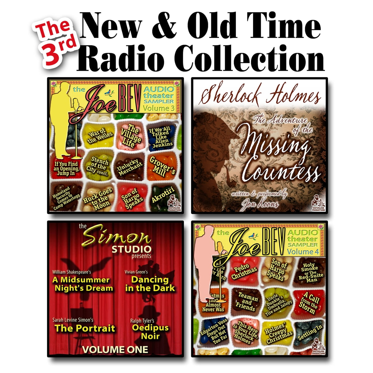 the 3rd new old time radio collection audiobook by joe bevilacqua 9781481517904 rakuten kobo - Old Time Radio Christmas