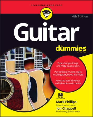 Guitar For Dummies ebook by Mark Phillips,Jon Chappell,Hal Leonard Corporation