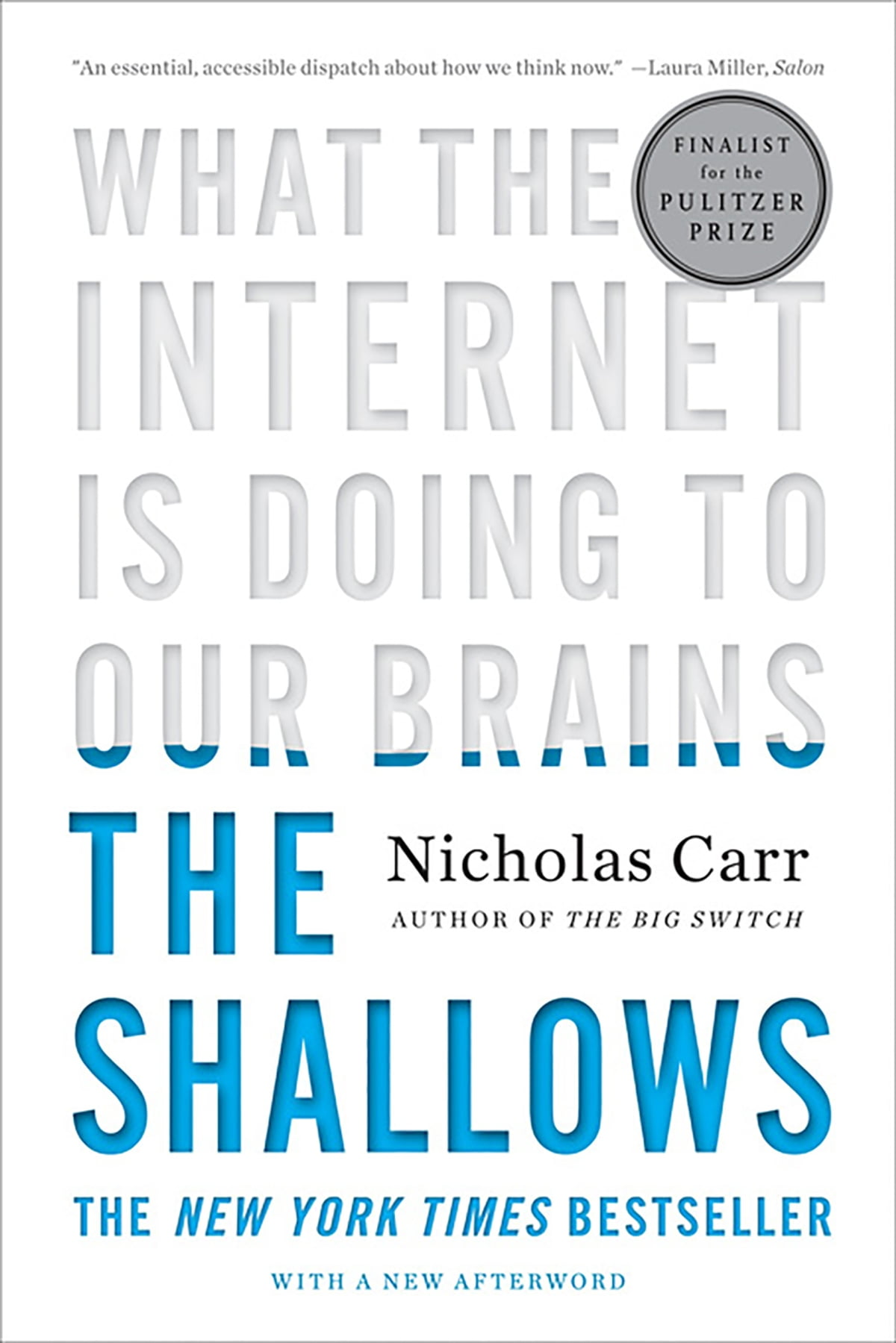 Image result for the shallows nicholas carr