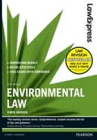 Law Express: Environmental Law ebook by Simon Sneddon