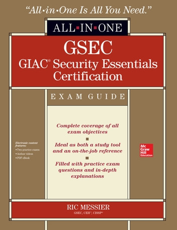 Gsec giac security essentials certification all in one exam guide gsec giac security essentials certification all in one exam guide ebook by ric messier fandeluxe Images