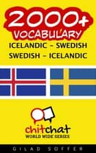 2000+ Vocabulary Icelandic - Swedish ebook by Gilad Soffer