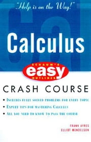 Schaum's Easy Outline of Calculus ebook by Ayres, Frank
