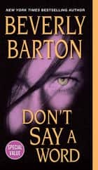 Don't Say a Word ebook by