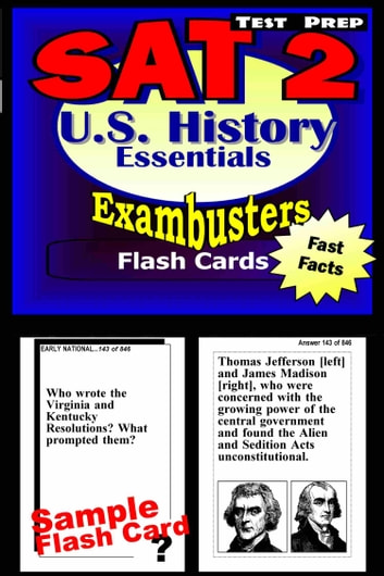 sat 2 us history test prep review exambusters flash cards. Black Bedroom Furniture Sets. Home Design Ideas