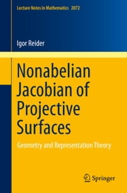 Nonabelian Jacobian of Projective Surfaces - Geometry and Representation Theory ebook by Igor Reider