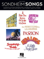Sondheim Songs for Easy Piano (Songbook) ebook by Stephen Sondheim