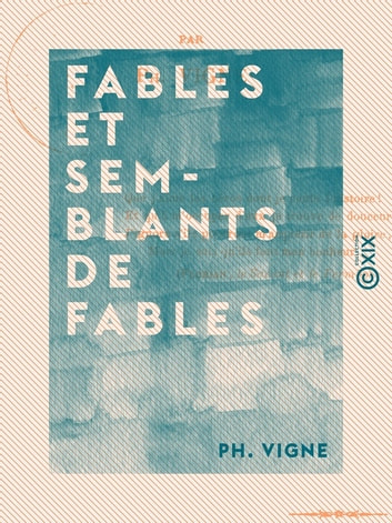 Fables et semblants de fables ebook by Ph. Vigne