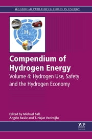 Compendium of Hydrogen Energy - Hydrogen Use, Safety and the Hydrogen Economy ebook by Michael Ball,Angelo Basile,T. Nejat Veziroglu