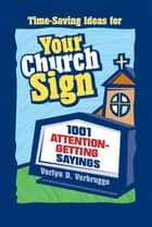 Your Church Sign ebook by Verlyn Verbrugge