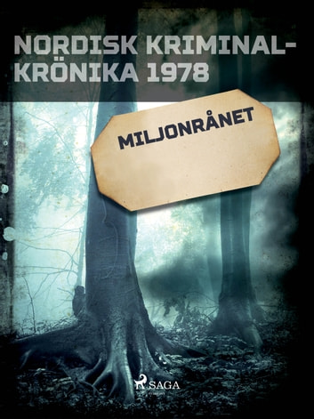 Miljonrånet eBook by - Diverse