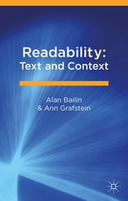 Readability: Text and Context ebook by Alan Bailin,Ann Grafstein