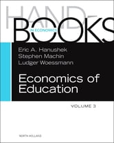 Handbook of the Economics of Education ebook by