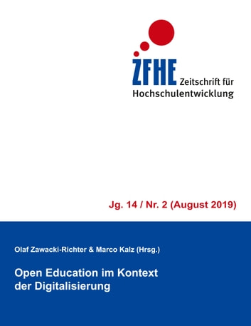 Open Education im Kontext der Digitalisierung - ZFHE 14/2 ebook by
