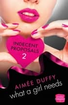 What a Girl Needs: (A Novella) (Indecent Proposals, Book 2) ebook by Aimee Duffy
