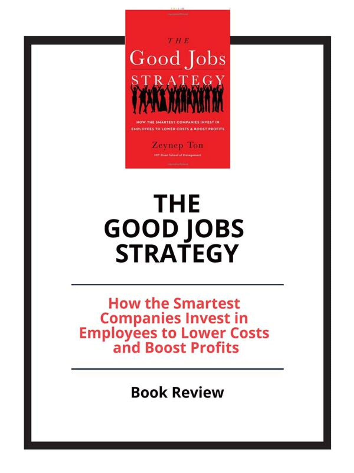 The Good Jobs Strategy ebook by PCC - Rakuten Kobo