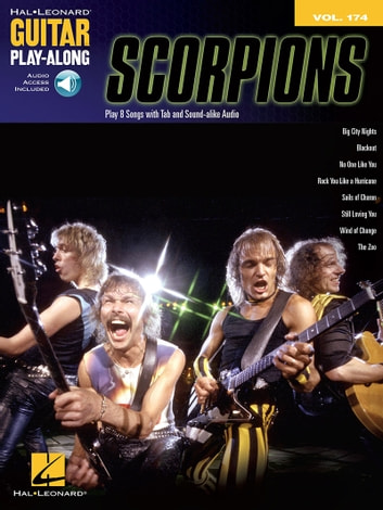 Scorpions Guitar Play-Along Songbook - Volume 174 ebook by Scorpions