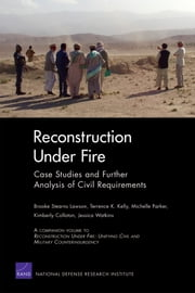 Reconstruction Under Fire - Case Studies and Further Analysis of Civil Requirements ebook by Brooke Stearns Lawson,Terrence K. Kelly,Michelle Parker,Kimberly Colloton,Jessica Watkins